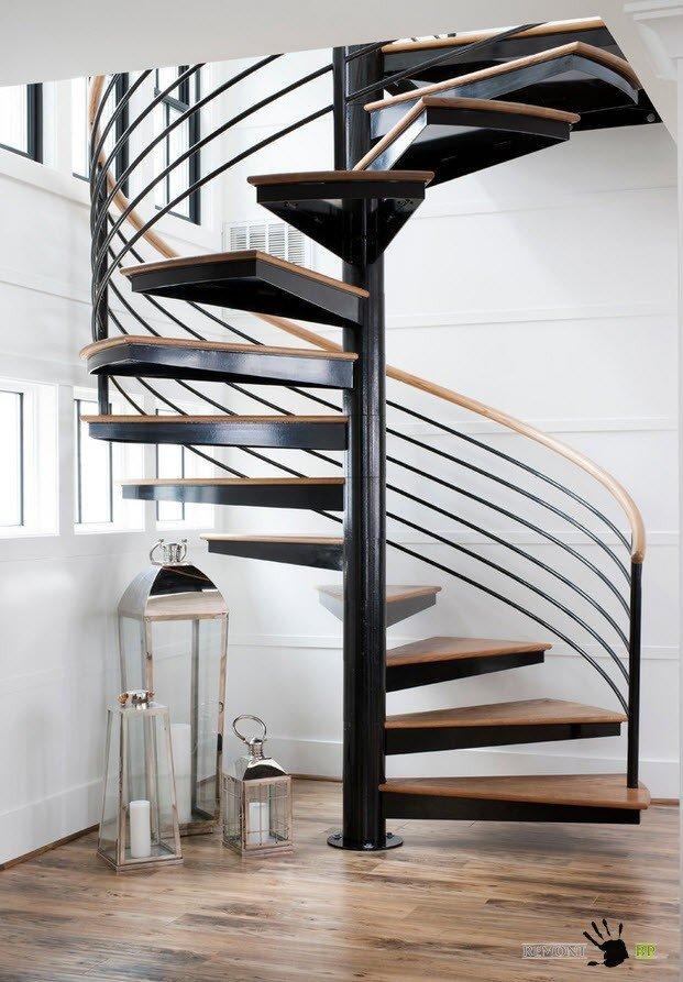 Элементы для лестницы из металла - Всё о лестницах